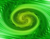 Tvinnad grön — Stockfoto