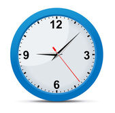 Classic Office Clock — Vector de stock
