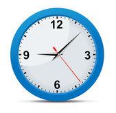 Reloj clásico oficina — Vector de stock