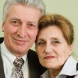 Royalty-Free Stock Photo: Beautiful elderly couple businessmen