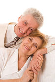 Elderly man and woman — Stock Photo
