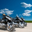 Motorcycles on a road — Stock Photo