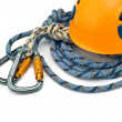 Climbing equipment — Stockfoto