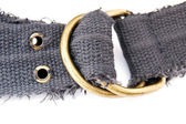 Buckle of the textile belt — Stock Photo