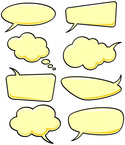 Speech bubbles — Stock Photo #2600081