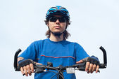 Junge Radfahrer — Stockfoto