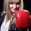 Girl the boxer — Stock Photo #1053034