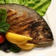Grill a fish — Stock Photo #1032167