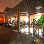 Beautiful modern cafe — Stock Photo