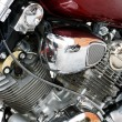 Engine of a motorcycle — Stock Photo