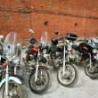 Royalty-Free Stock Photo: Four motorcycles