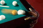 Billiard pocket — Stock Photo