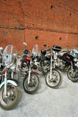 Four motorcycles — Stock Photo