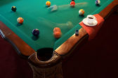 Billiard table — Stock Photo