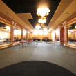 Stockfoto: Dance hall with mirrors