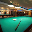 Table for game in billiards — Stockfoto
