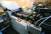 New polygraphic machine — Stock Photo