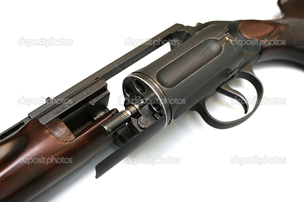 Hunting weapon stock image