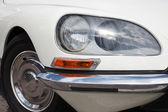 White old car — Stock Photo