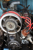 Engine with air cooling — Stock Photo