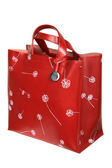 Red bag with figure — Stock Photo