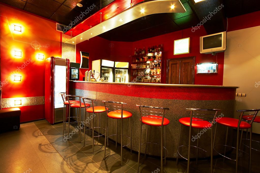 Modern and beautiful bar in a night club  Foto Stock #1081687