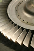 Turbine blades — Stock Photo
