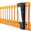 Office folders — Stockfoto