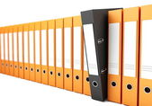 Office folders — Stock Photo