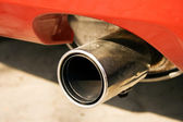 Muffler of car — Stock Photo