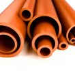 Plastic pipes — Stock Photo #1052478