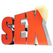 Sex — Stock Photo