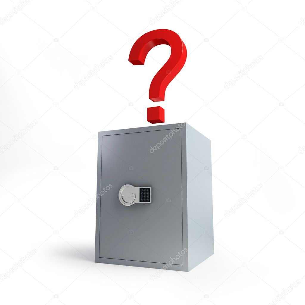 Deposit under a question — Stock Photo #1083988