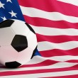 Football usa — Stock Photo