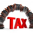 Royalty-Free Stock Photo: Tax
