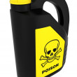 Toxic! Poison can — Stock Photo