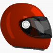 Moto Helmet | 3D — Stock Photo