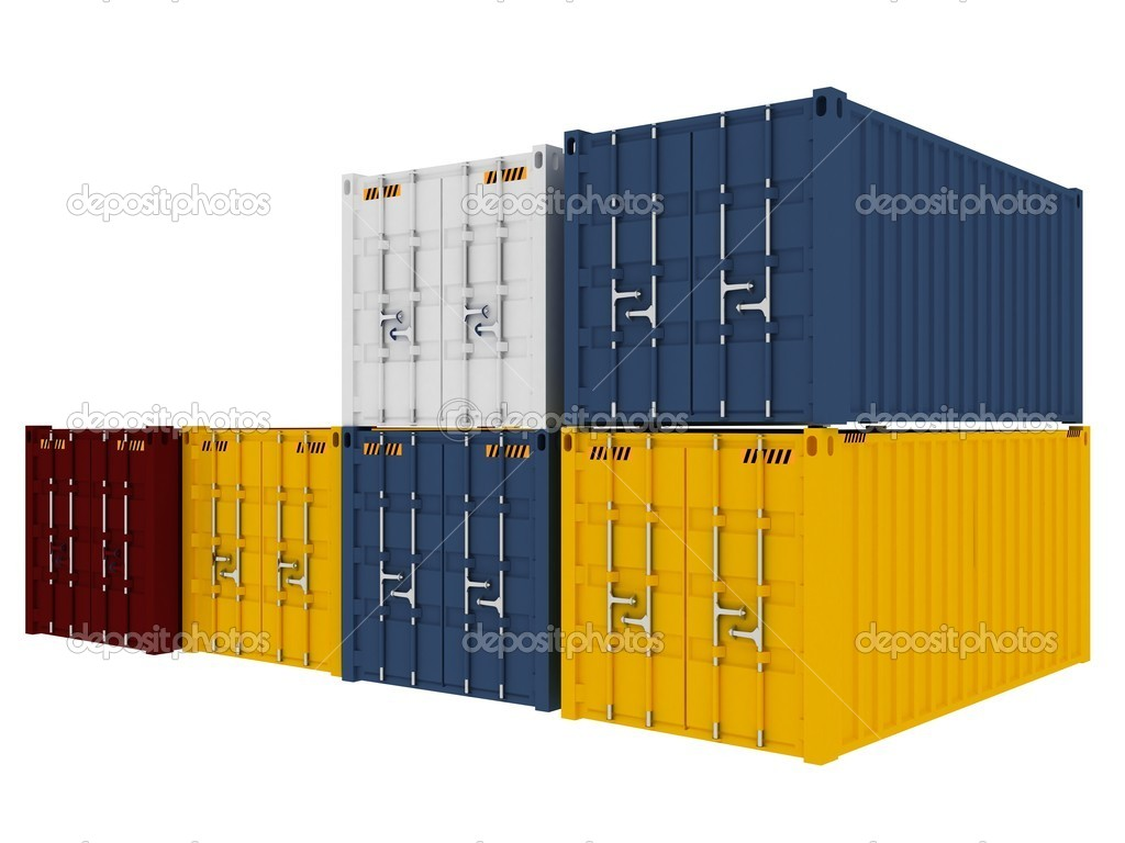 Cargo containers — Stock Photo #1346016