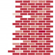 Brick wall — Stock Vector #1354056