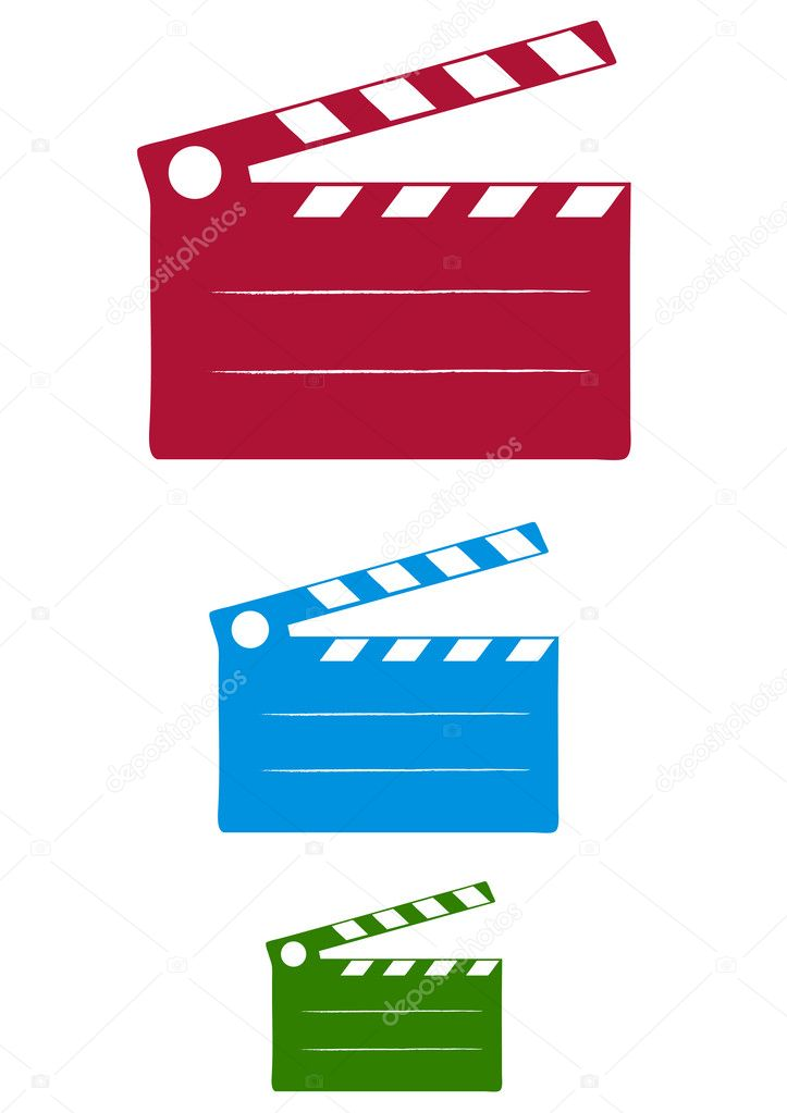 Cinema Slate  Stock Vector #1354064