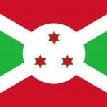 Постер, плакат: Burundi Flag