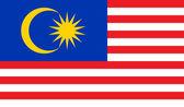 Malaysia Flag — Stock Vector