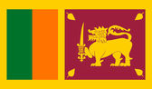 Sri Lanka Flag — Stock Vector