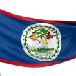 Belize National Flag — Stock Photo #1734349