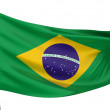 Stock Photo: Brazil National Flag