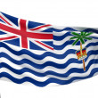 Stock Photo: British IndiOceTerritory Flag