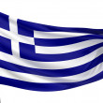 Greece National Flag — Stock Photo #1734938