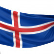 Stock Photo: Iceland National Flag
