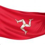 Isle of Man National Flag — Stock Photo #1735083