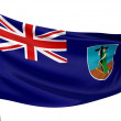 Stock Photo: Montserrat National Flag